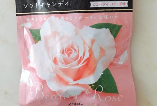 「連續101天的美麗分享」第9天《Kracie香體玫瑰軟糖》