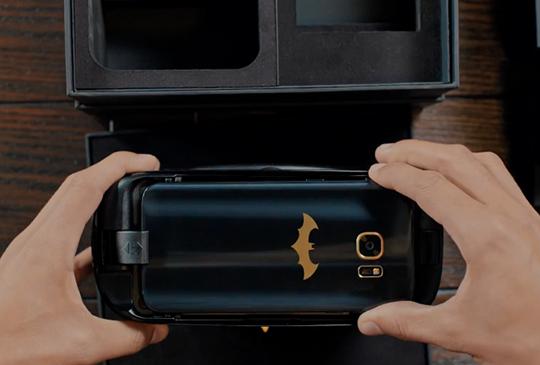 三星釋出 Galaxy S7 edge 蝙蝠俠特別版宣傳影片,將於特定地區限量推出