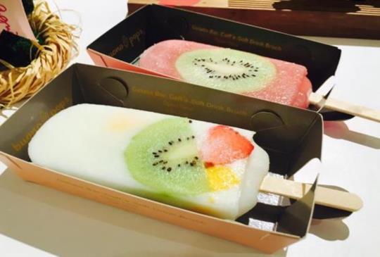 今夏最IN!看得到吃得到的水果冰棒!