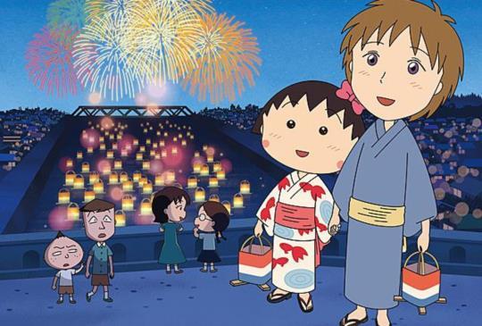 【櫻桃小丸子跨國初戀,首度到大阪、京都旅行,看看她去了哪?】