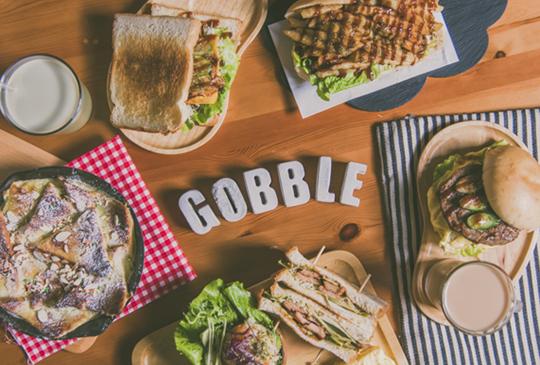 【台北瑞安街-療癒系平價早午餐】大口餐廳Gobble