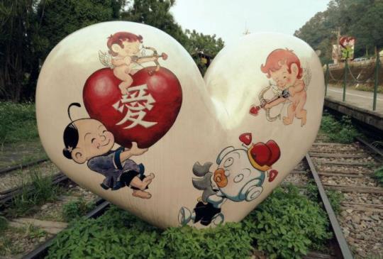 【新竹】傳說中的豆腐岩沒有藤原拓海,而雪霸國家公園的晨曦,使合興車站顯露幸福倩影