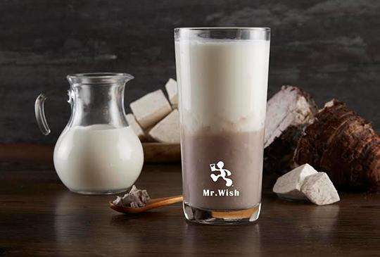 【Mr. Wish】大甲芋頭鮮奶上市! 新春三大優惠送給你,第二杯半價、豬朱人免費享單品好茶!
