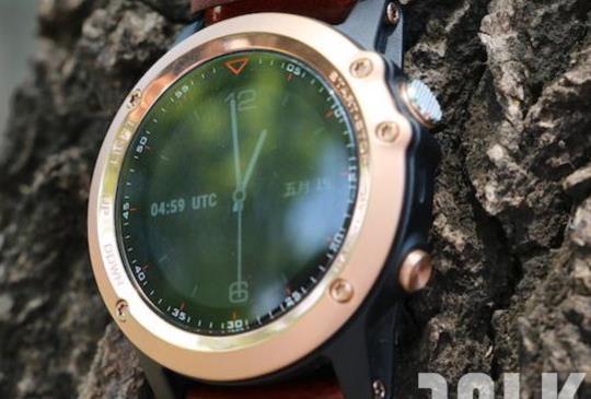 【高調奢華,運動 GPS 智慧錶 Garmin fenix 3 玫瑰金版本實測】