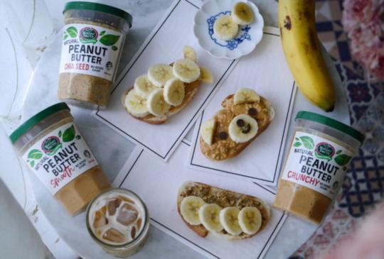 健康優質美味,身體最知道。花生醬、果乾、酪梨油、橄欖油、藜麥。
