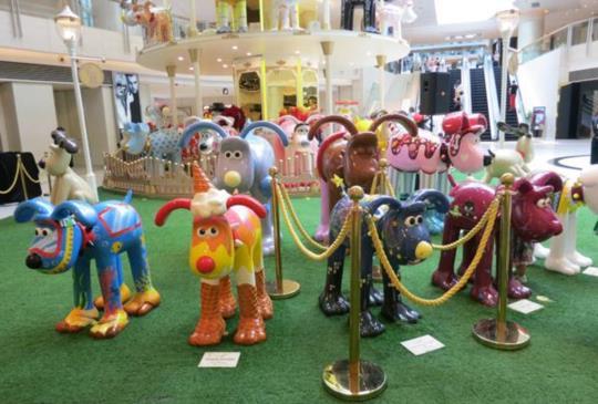 70隻Gromit大狗狗入侵香港!跟著克里斯多一起現場直擊!