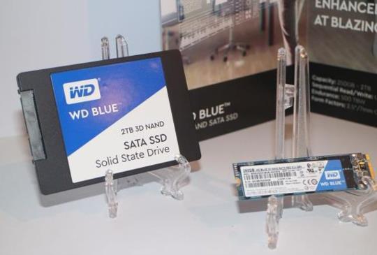 【COMPUTEX17】WD 首款 64 層 3D NAND 消費性電競、高效能 SSD 第三季上市