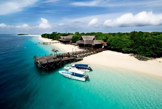 隱式大馬版馬爾代夫 · 兩島一線沙灘奇景