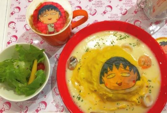 【期間限定‧櫻桃小丸子咖啡廳開幕囉!把握機會趕緊去吧!】~主題餐廳特搜