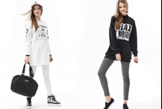 最簡單的時尚美學!每個女孩兒都要會的黑白穿搭術!