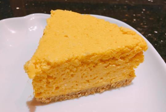 吃膩美式乳酪蛋糕嗎?換個口味試試看~南瓜乳酪蛋糕Pumpkin Cheesecake