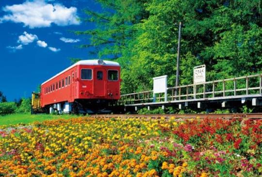 【北海道‧浪漫滿點充滿粉紅泡泡的幸福車站】