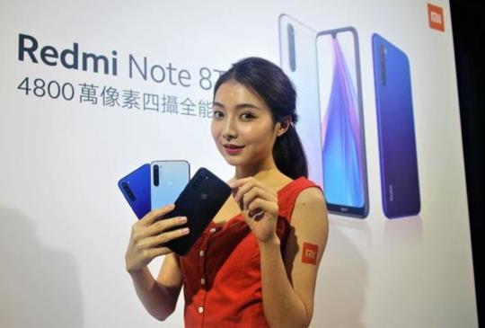 小米推出四鏡頭平價入門機,Redmi Note 8T 本周台灣開賣