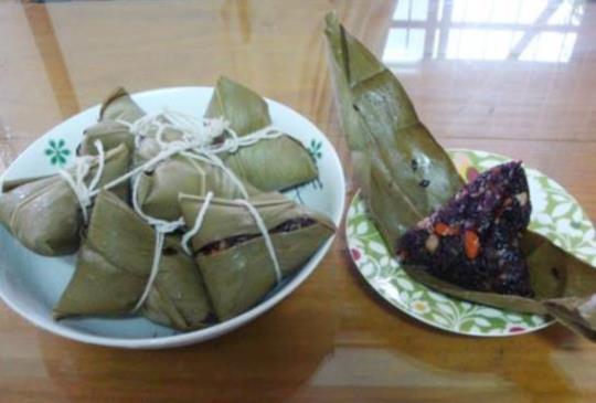 肉粽熱量逾6百卡 自製低卡金瓜粽