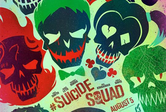 終於等到DC的壞蛋們躍上大銀幕的《自殺突擊隊》!