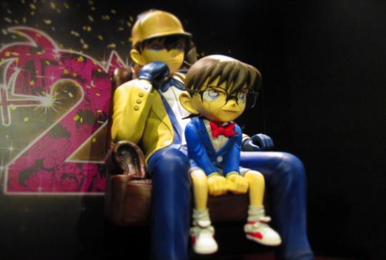 名偵探柯南20周年紀念展覽,經典劇情感動的瞬間!