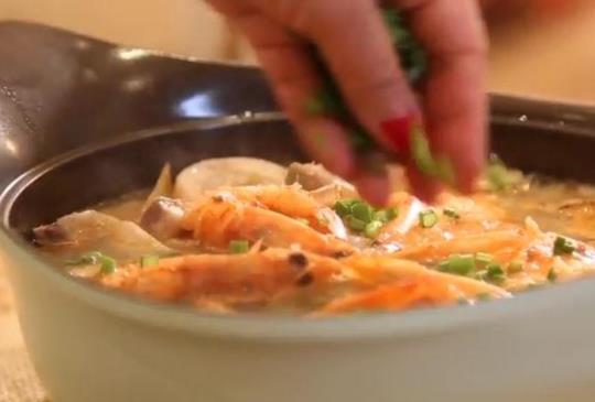 料理美學-台南風味的虱目魚海鮮湯飯