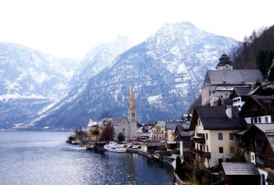 奧地利【哈修達特】湖畔邊的仙境小鎮