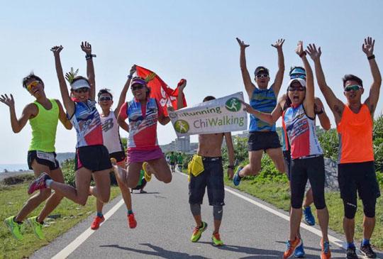 2015香港隊台灣東岸夸父追日~台灣味滿滿的210公里