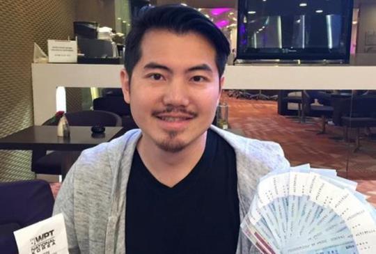 德州撲克選手范雲翔,世界撲克巡迴賽(WPT) 韓國濟州島站的豪客賽 榮獲亞軍!獲得獎金2800萬韓元