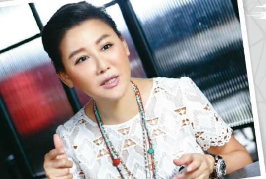 【時尚教主藍心湄:我不用嫁豪門,我自己就是豪門!】