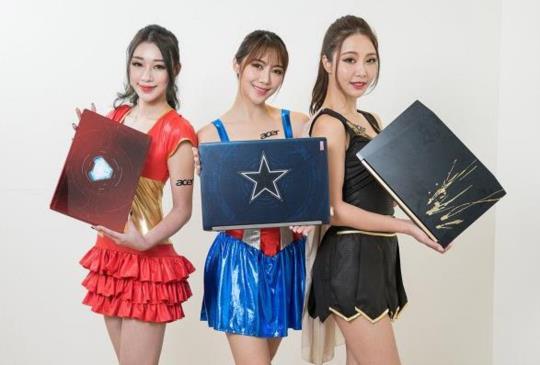 宏碁 X 漫威 Acer 復仇者聯盟特別版筆電限量開賣