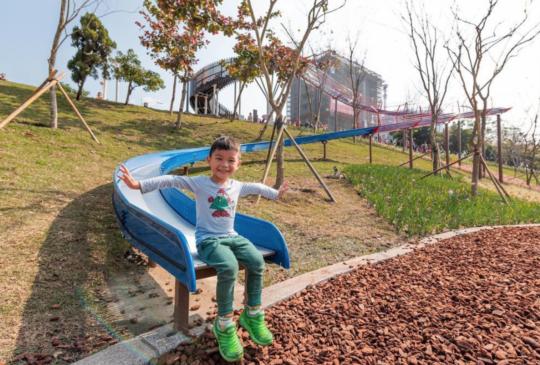 【免費溜滑梯】6座桃園特色溜滑梯公園 超長溜滑梯/滾輪溜滑梯