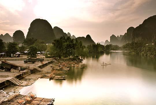 中國【桂林】走進如夢似幻的山水畫