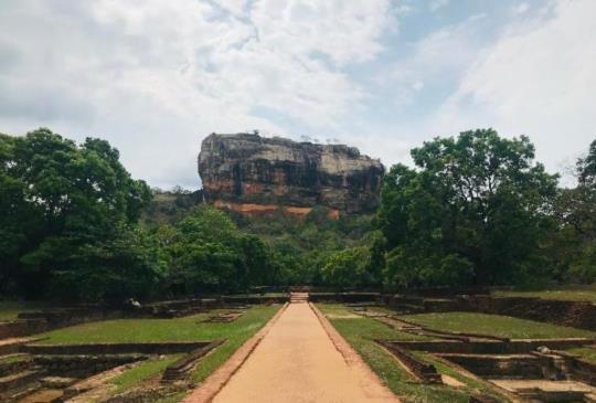 【斯里蘭卡】獅子岩(Sigiriya)上的空中宮殿(下)