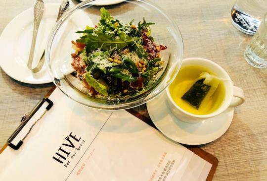 「HIVE巢餐廳」信義區平價品嚐高級感義法料理!