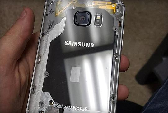 想要透明色的 Samsung GALAXY Note 5?「扒」下它的皮就可以