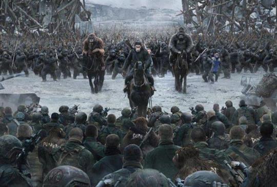 【新聞】凱撒的最後一哩路?《猩球崛起:終極決戰》最終預告曝光