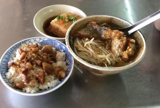 來台南怎麼能不吃?-開元紅燒土魠魚羹