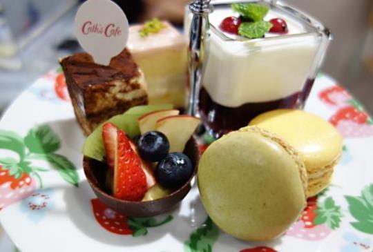 【英國Cath's Café 全台第一家 搶先嘗】