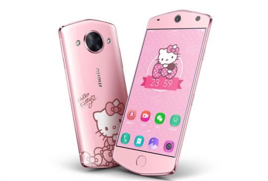 美圖M8支援強悍自拍功能,另推美少女戰士與Hello Kitty特別款