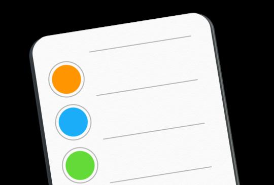 Mac 內建冷軟體(六):便利、直覺的備忘工具「提醒事項」