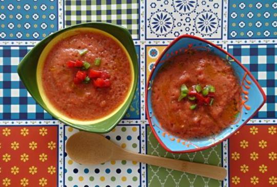 西班牙夏季消暑湯品 西班牙番茄冷湯(Gazpacho)