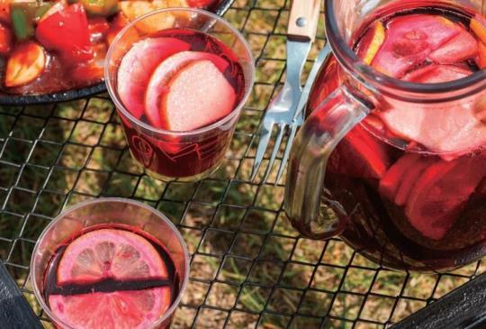 【露營野炊料理】香格里拉調酒 搭配野炊料理清涼十足!