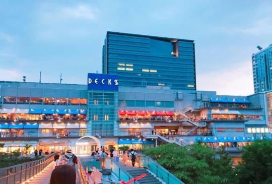 【日本】購物及夜景兼具的「台場」,玩整天也不膩!