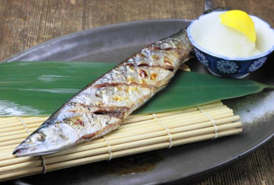 只要吃這魚就不用去按摩 - 秋刀魚