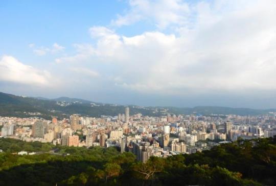 【台北】城市中的小郊外,輕鬆眺望台北市 - 軍艦岩