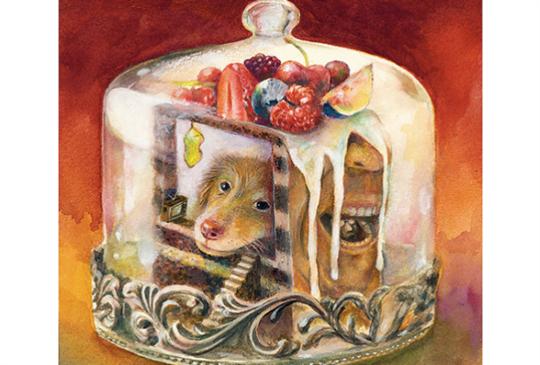 【Jumbo 泡咖啡的臘腸先生】美國國際插畫優選獎~原創插畫展正在大直展出