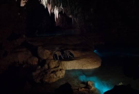【日本】沖繩最大的鐘乳石洞-玉泉洞