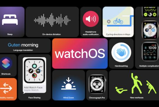 【WWDC 2020】watchOS 可以分享表面,能支援跳舞運動紀錄,並要你勤洗手