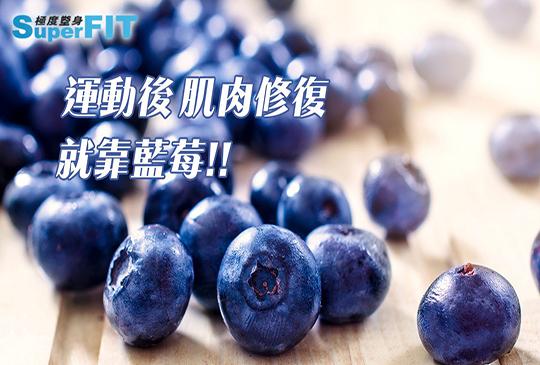 健身也能大吃的超級食物-藍莓