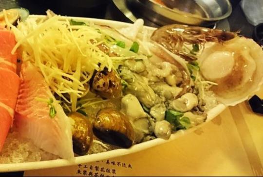 【同時滿足小鳥胃、大胃王的海鮮饗宴:川之流精緻刷刷鍋】