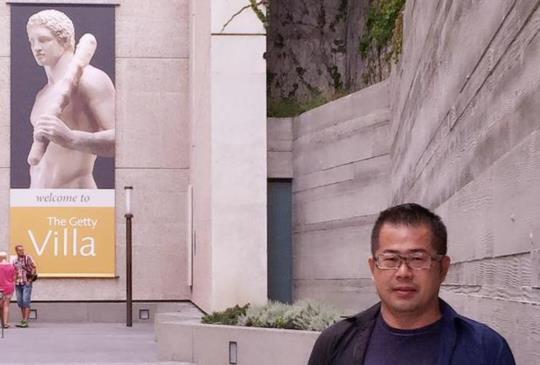 洛杉磯洛城知名博物館-蓋蒂別墅-The Getty Villa