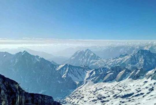 【德國.Zugspitze】與山對話