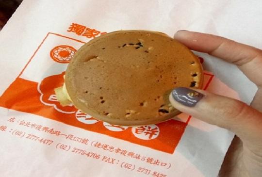 【台北東區‧名不虛傳好吃好Q同心圓水晶紅豆餅】
