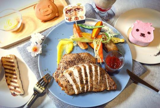 【台北】星座小熊布魯斯主題餐廳-雙子專屬生日套餐